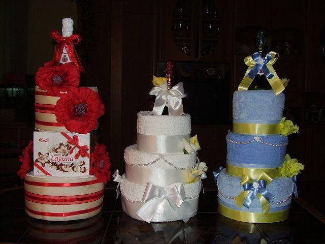Plienkové torty a iné baby darčeky z plienok!
