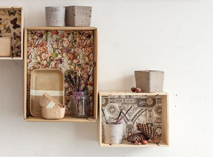 DIY shelf decoration Pin magazin 2014 autumn - No. 9