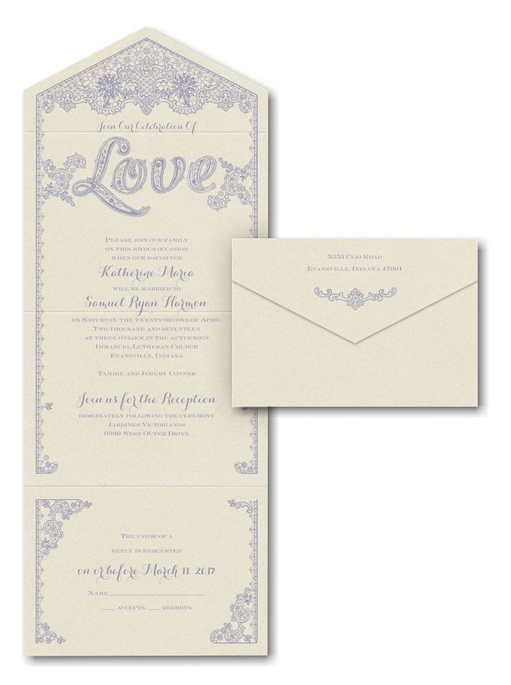 228 Best Seal N Send Wedding Invitations Images On Pinterest