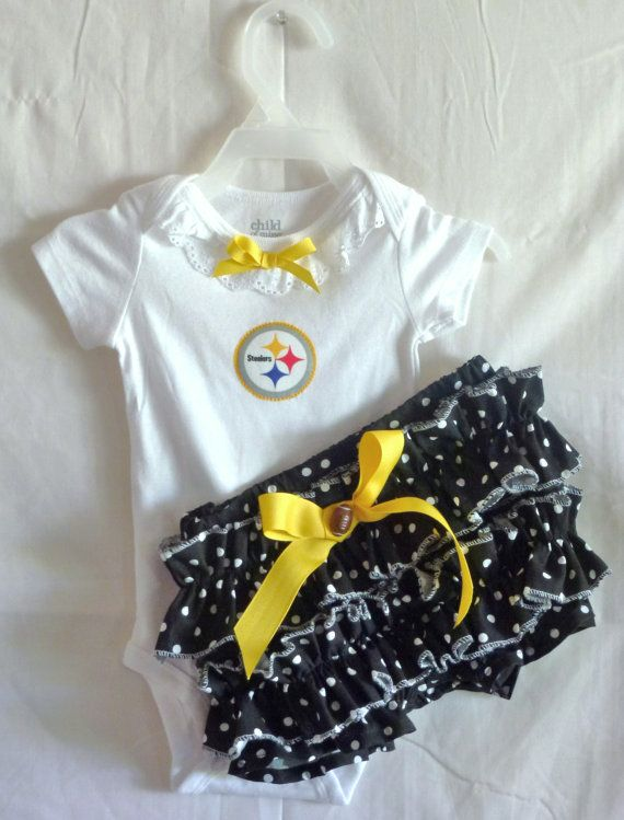 Pittsburgh Steelers Boutique Ruffled Bloomer by ...