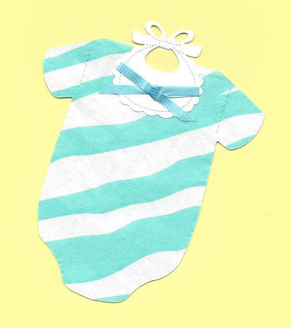 Set of 30  Sweet Cotton Candy Blue Zebra Stripes by SuriesBoutique, $15.00