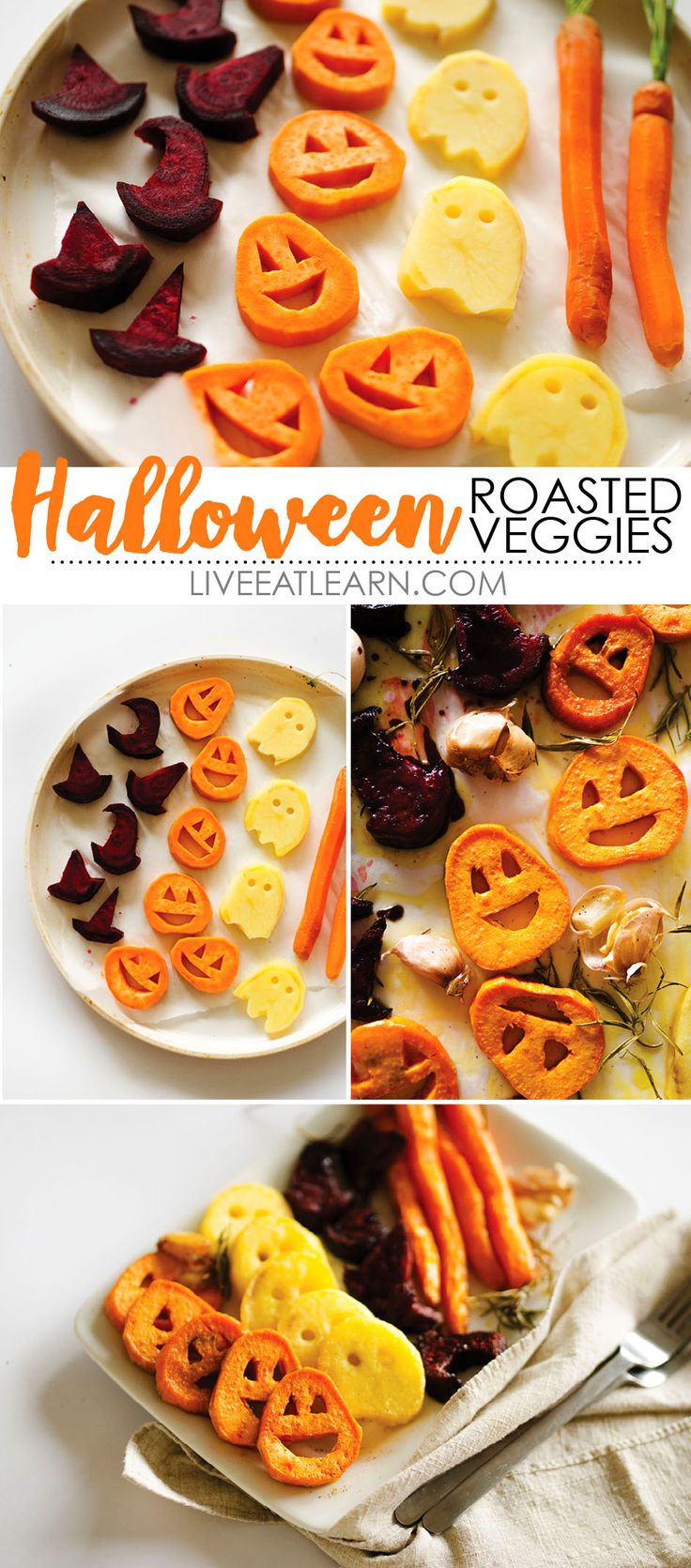 halloween roasted veggies - Funny Halloween Recipes