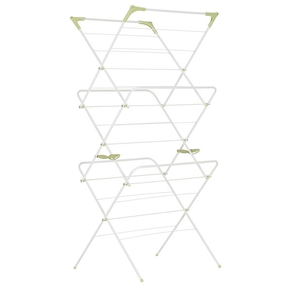 Addis 3 Tier Indoor Airer- is perfect for that extra bit of drying space that is always needed when the outdoor washing line has ran out of room and you still have one or two more loads of wet laundry to hang out.