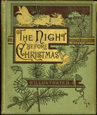 Favorite Antique Illustrated versions of Twas the Night Before Christmas | SantaClaus.com