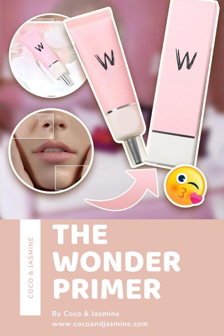 The Wonder Primer from Coco&Jasmine in 2020 Makeup skin