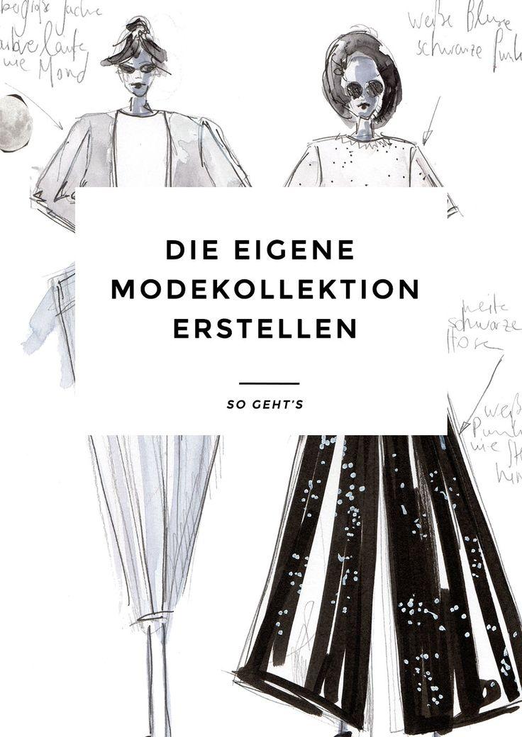 Die eigene Modekollektion erstellen – so geht's