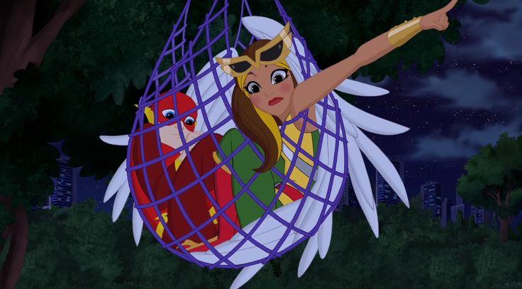 DC SUPERHERO GIRLS ❣️ Hawkgirl. The Flash.