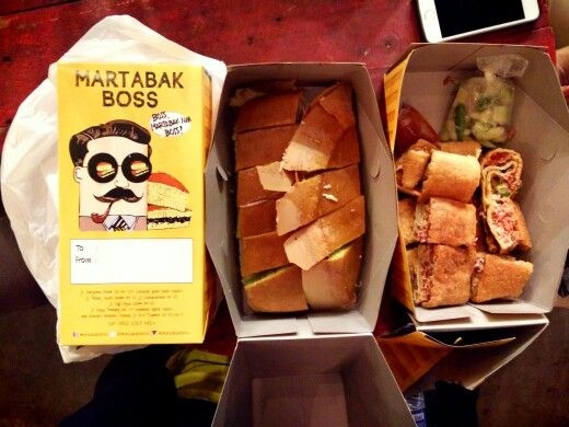 Martabak! Indonesian Pancake. Sweet and Sour.