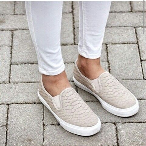Trend alert slip on shoes! Get ready trendy girls for the new fashion trend  this season; the slip on sneakers are very popular on the street