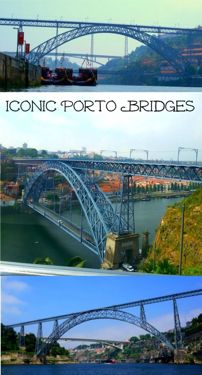 Porto the city of Bridges in Northern