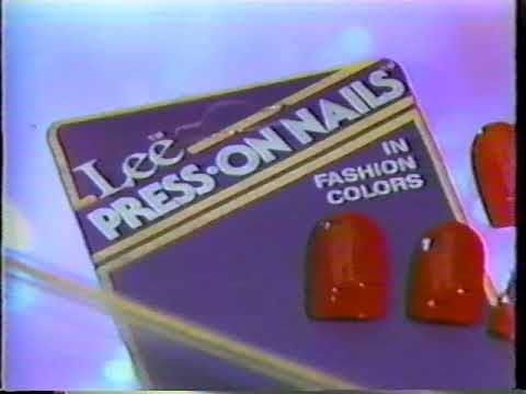 Lee Press On Nails Commercial 1988 You
