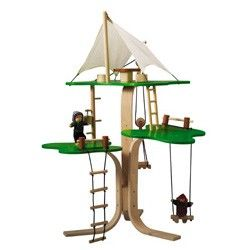 35 best toy houses images on pinterest wood toys wooden for Magic cabin tree fort kit