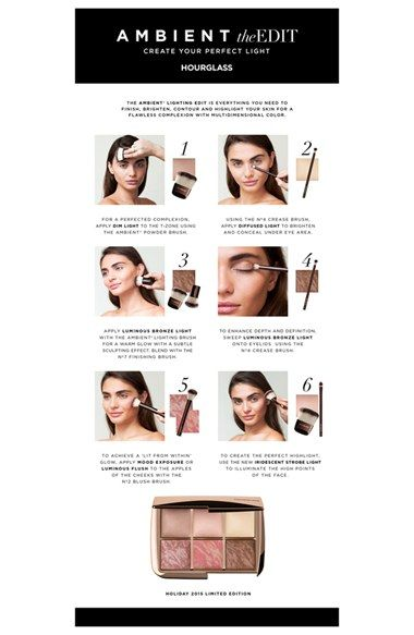 HOURGLASS 'Ambient® Lighting' Edit (Limited Edition) ($132 Value) | Nordstrom