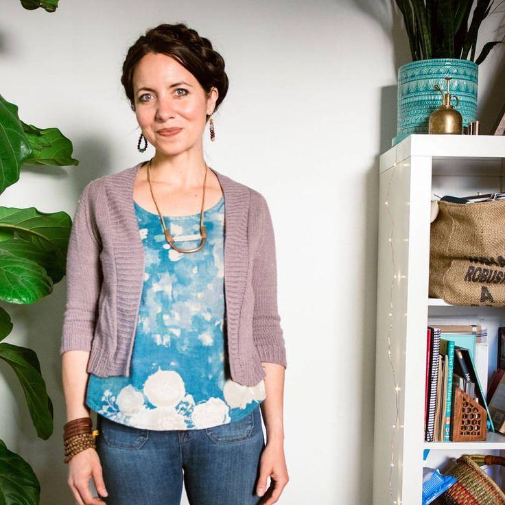 Gemma looks fantastic under a handknit sweater! meg mcelwee ❤ mama + maker (@sewliberated)