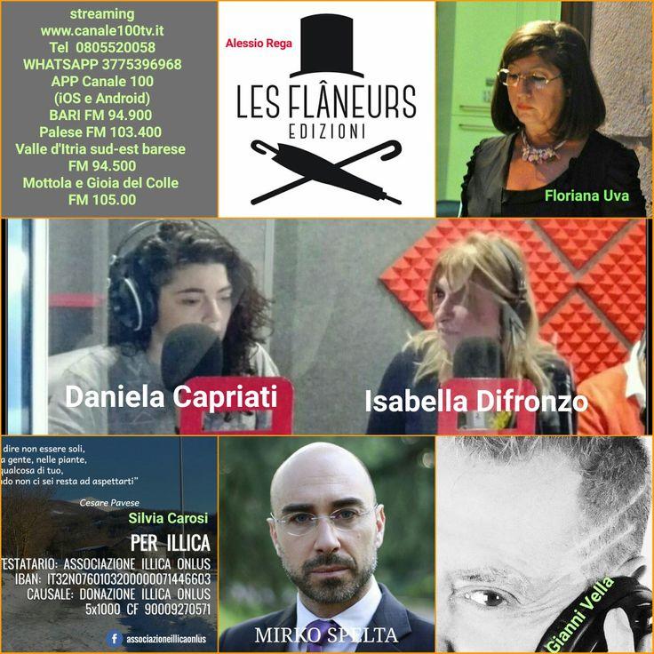 Domani ore 10.00 in diretta su www.canale100tv.it