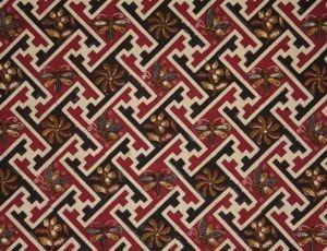 Motif Batik Geometris Dan Non Geometris Kreasi Batik Pinterest Dan