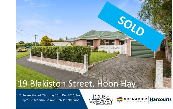19 Blakiston Street, Hoon Hay #Auction