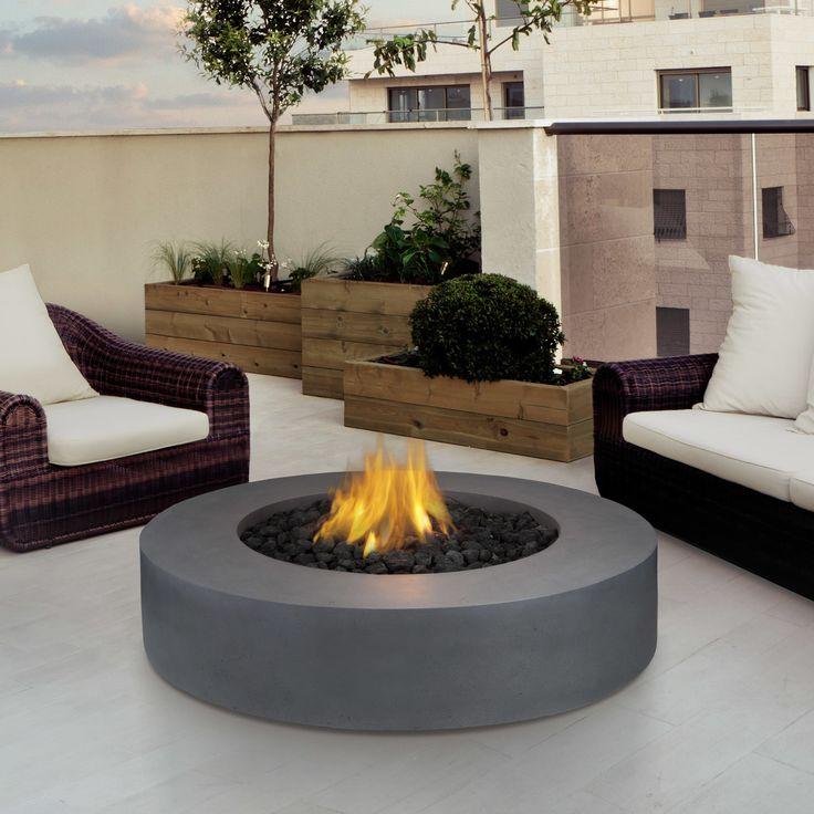 Real Flame Mezzo Propane Fire Pit Table & Reviews | Wayfair #patio