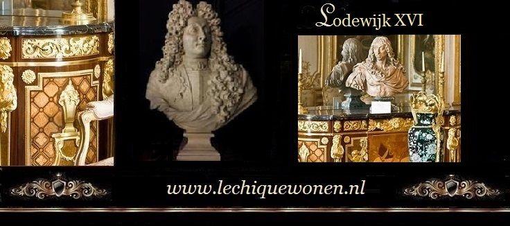 Barok Klassiek Meubilair Marqueterie Lodewijk XVI   Le Chique Wonen