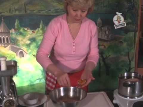 Грузинская кухня, баже - YouTube