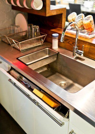Отличные лайфхаки для маленьких кухонь