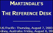 Site of the Week: Martindale's The Reference Desk