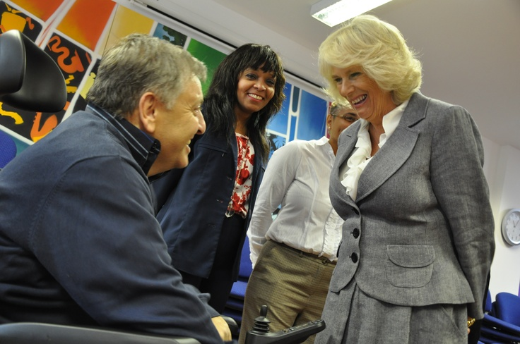 More smiles from the Duchess..