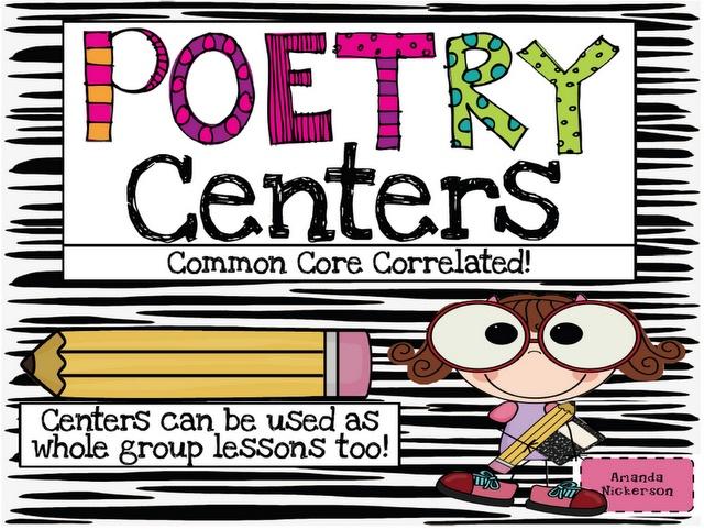 One Extra Degree: Spring Break, Poetry Centers, & Poetry!: Poetry Activities 3Rd Grade, 3Rd Grade Ela Center, Poetry United, Idea, 3Rd Grade Fluency Activities, Poetry Center, 3Rd Grade Poetry Lessons, Extra Degree, Spring Break
