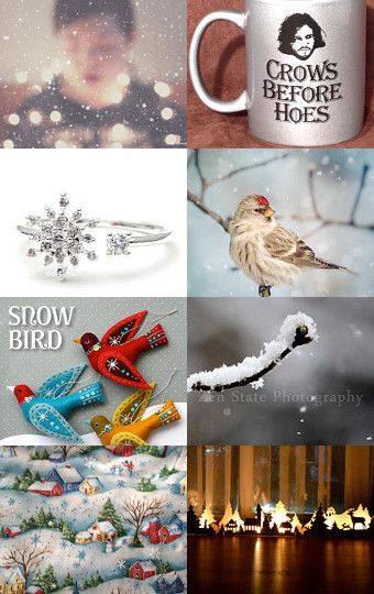 first snow by Victoria Beads on Etsy--Pinned with TreasuryPin.com