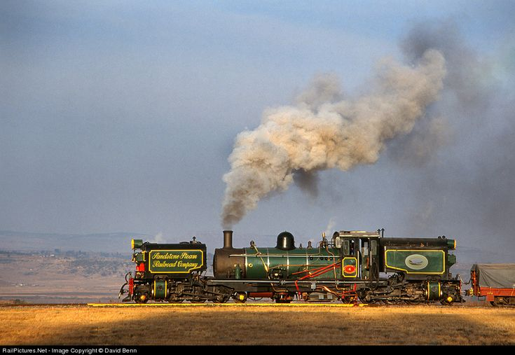Class NG 16 No 153 Sandstone Estates Steam 2-6-2+2-6-2 at Ficksburg, South Africa by David Benn