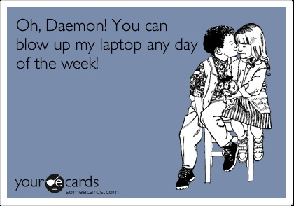 Daemon Black! Oh so true! ❤ (Read the Luxe Series and you will fall madly in love with a super sexy alien :) )