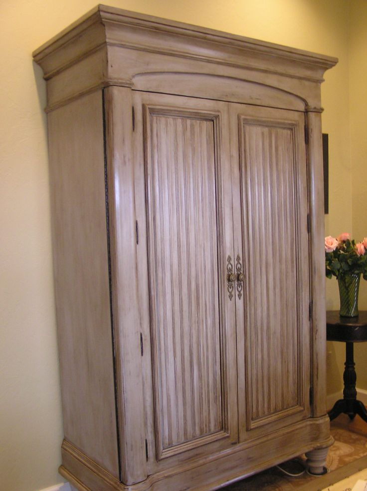 Goodwill Armoire Painted With Annie Sloan Paris Grey Http