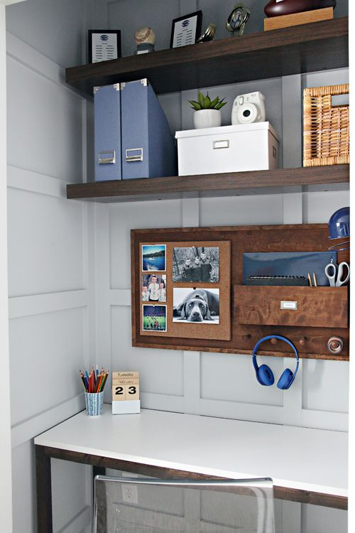 66 Our Teen Boy s Bedroom is Finished. Best 25  Small desk areas ideas on Pinterest   Small bedroom