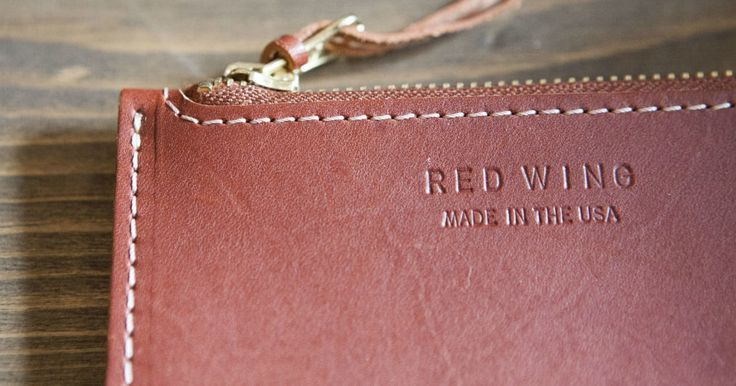 Red Wing Shoes Releases Fundamental Line of Leather Goods