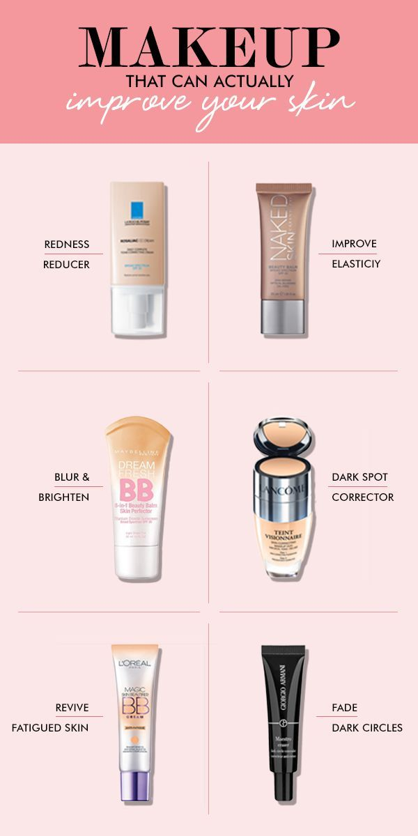 Anti Aging Skin Care Tips - Makeup Tips - Foundation -It's a rumor that all makeup is bad for your skin! We pulled together a list of products that can actually IMPROVE your skin!
