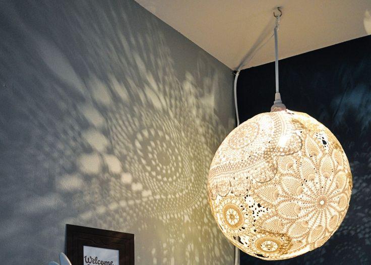 Lamp In Slaapkamer : Meer dan 1000 idee?n over Draad Lampenkap op Pinterest – Lampenkappen