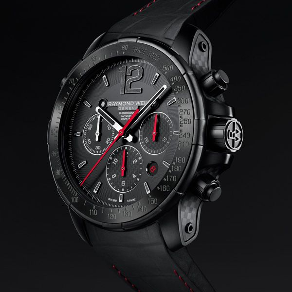 RAYMOND WEIL NABUCCO RIVOLUZIONE II RAYMOND WEIL's emblematic collection, nabucco , makes a strong comeback this year (See more at En/Fr/Es: http://watchmobile7.com/articles/raymond-weil-nabucco-rivoluzione-ii)