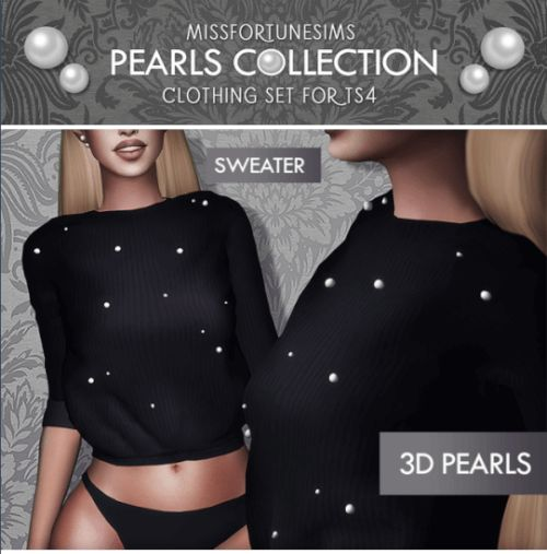 MFS Pearl Collection for The Sims 4