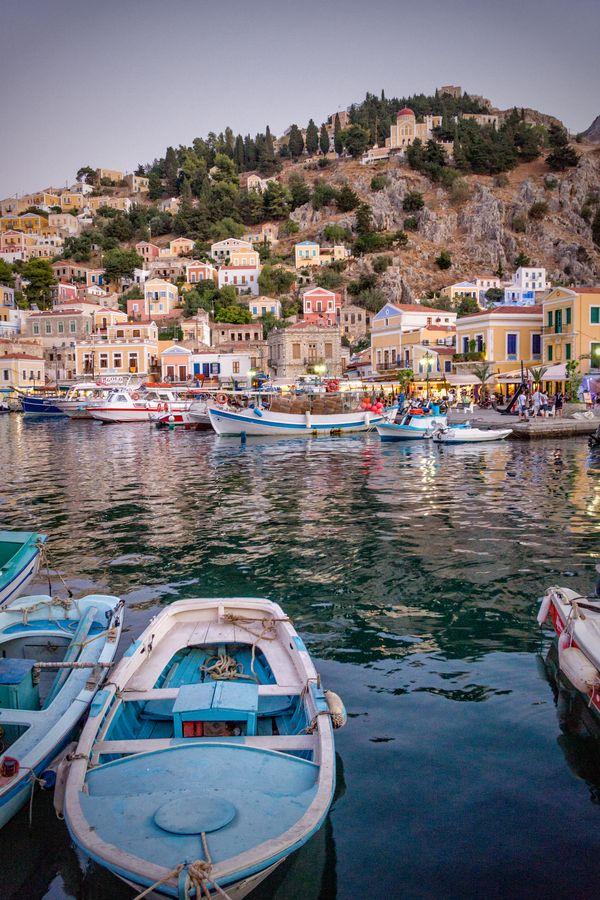 Before Sunset, Symi, Greece