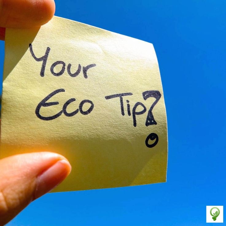 What is your Eco Tip?