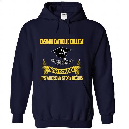 Casimir Catholic College - #sleeve tee #cashmere sweater. PURCHASE NOW => https://www.sunfrog.com/No-Category/Casimir-Catholic-College-8027-NavyBlue-Hoodie.html?68278