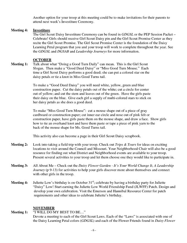 136 best Girl Scouts Daisy images on Pinterest Girl scout - performance contract template