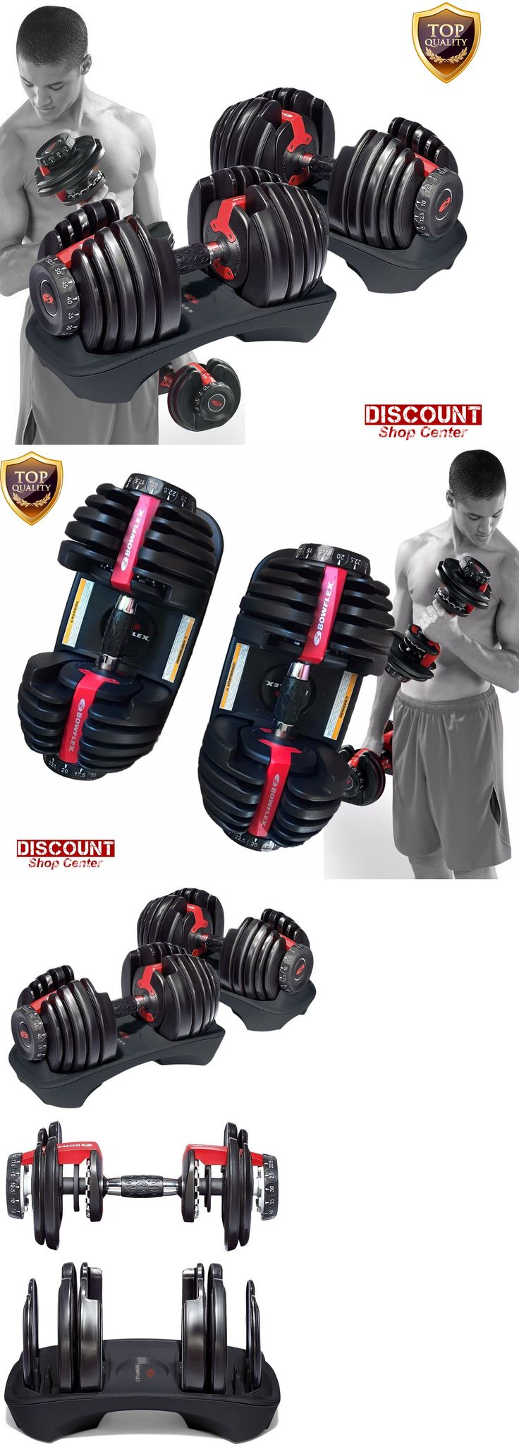 Dumbbells 137865: Weight Dumbbells Set Of Two Fitness Workout Exercise Gym New Bowflex Selecttec -> BUY IT NOW ONLY: $399.99 on eBay!