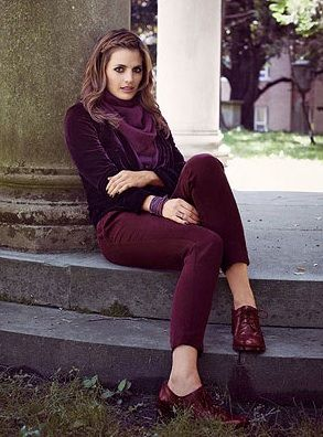 Fall Trend: Burgundy (head to toe Bordeaux)