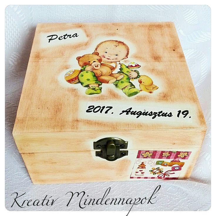 Babadoboz ajándékba a baba születésekor