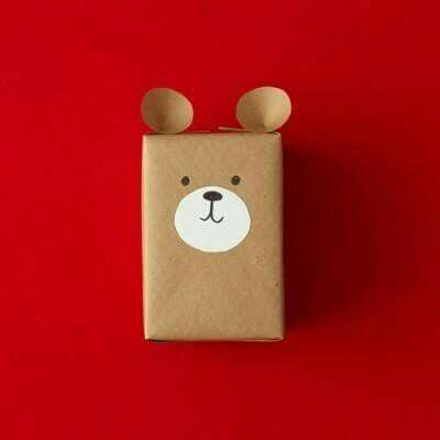 Simple and sweet - teddy wrapping