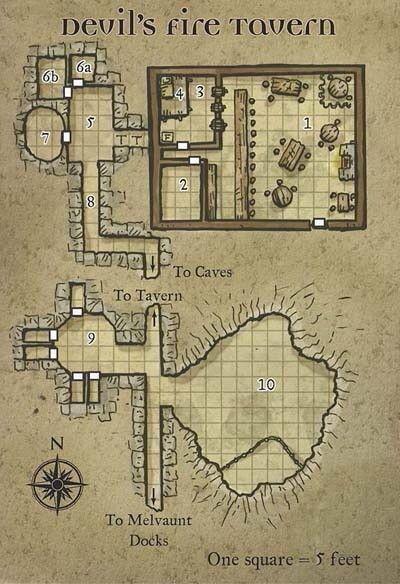 Devil's Rite Tavern #dnd #pathfinder #rpg