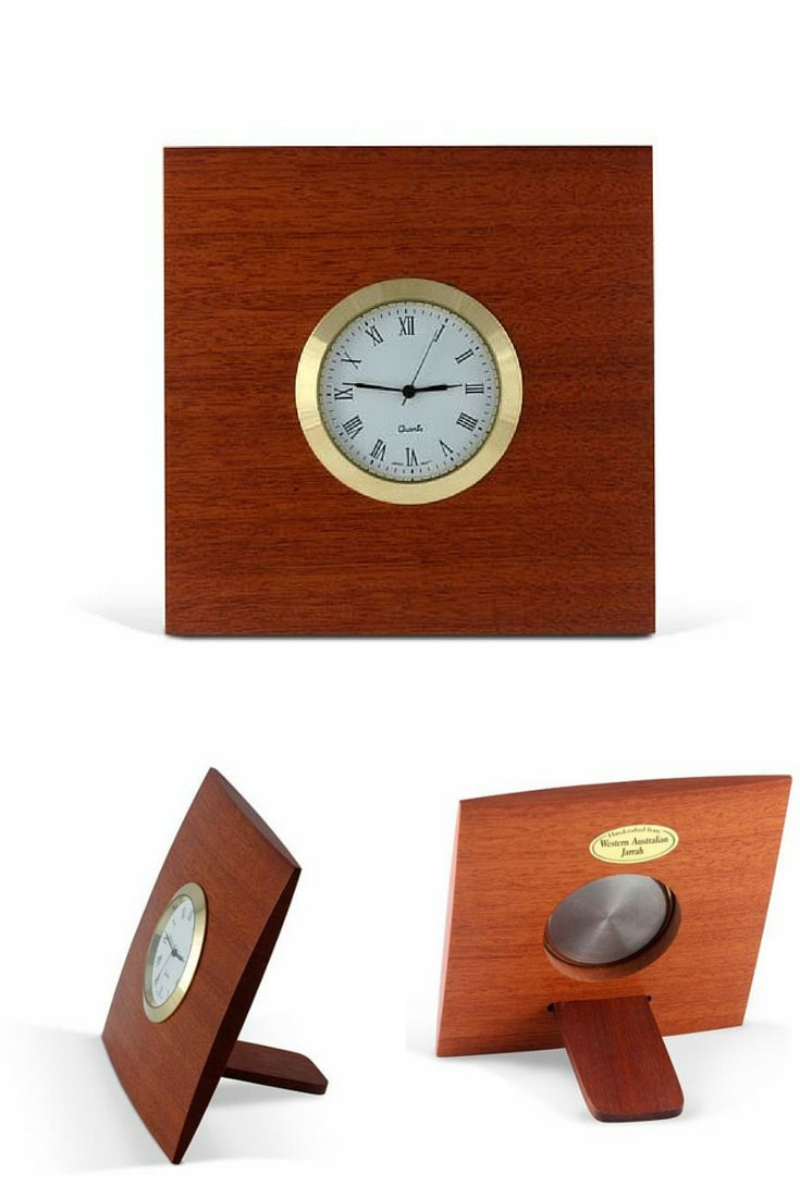 Crafted from West Australian Jarrah these desk clocks are great for travel or for display at home. They are beautiful, easy to read, and great for trips.They come boxed and make a perfect gift.