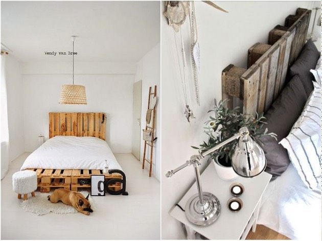 17 best ideas about sommier en palette on pinterest - Faire un lit avec des palettes ...
