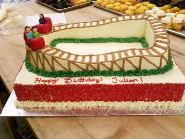 roller coaster cake - Google Search